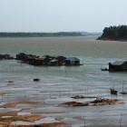 _plavajoča vas na Mekongu_