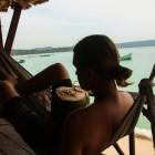 _na otoku je rastel velikanski in zelo okusen kokos_